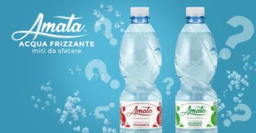 Acqua frizzante: i falsi miti da sfatare!