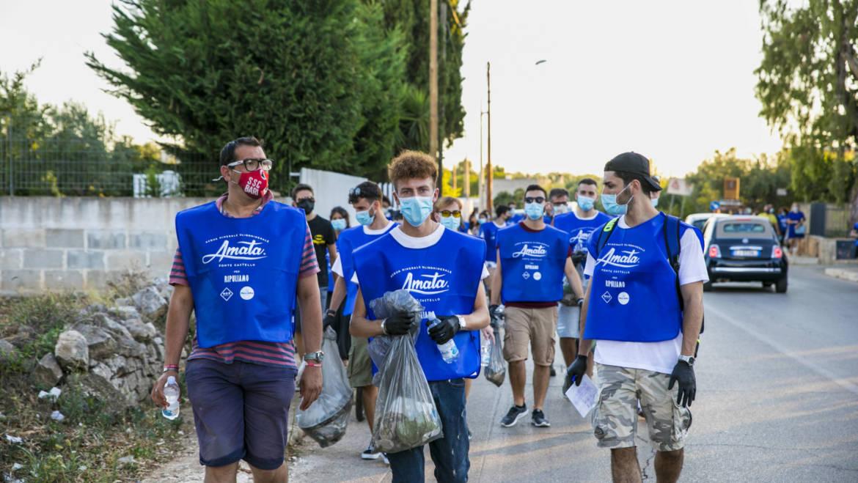 """Acqua Amata sostiene l'evento """"Ripuliamo"""" per pulire le spiagge e gli ambienti naturali"""
