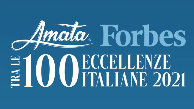 Acqua Amata è fra le 100 Eccellenze Italiane secondo Forbes Italia